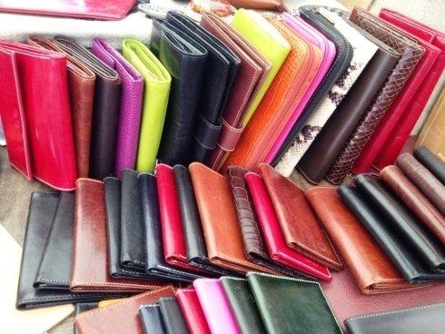 Produzione e vendita portafogli in pelle e cuoio
