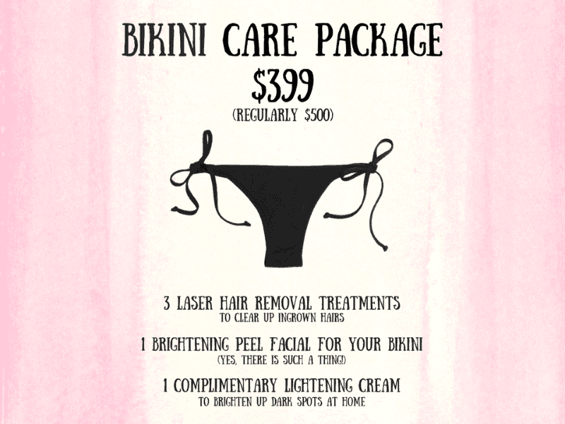 Bikini ingrown hair treatment, philadelphia