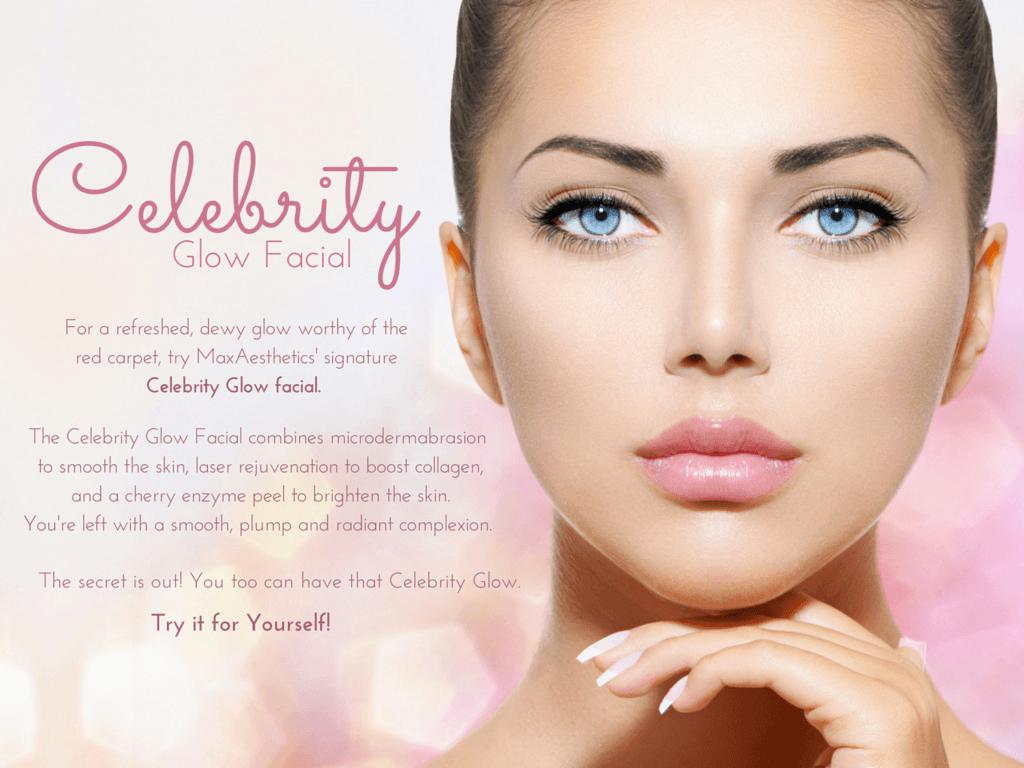 Beauty Day Spa, Celebrity Glow, Facial, Laser Genesis, Brightening Peel, Microdermabrasion, rejuvenate, refresh, glow, dewy skin