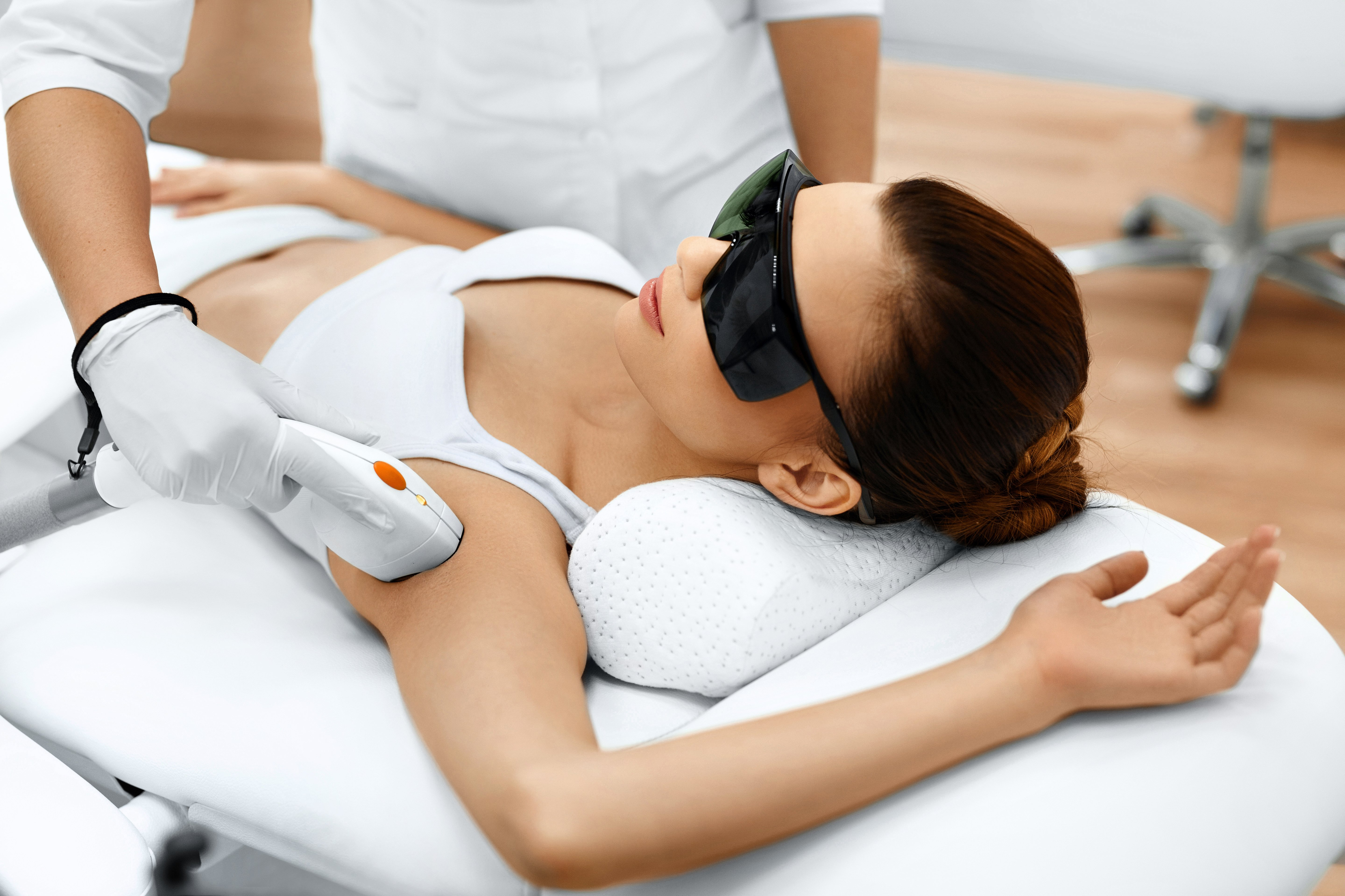 Laser Hair Removal for All Skin Types Including Darker Ethnic Skin Tones such as Asian, Latin, African American or Black Skin
