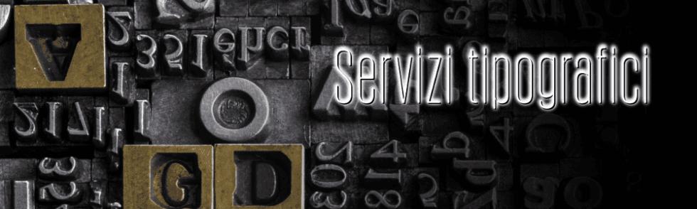 Servizi tipografici