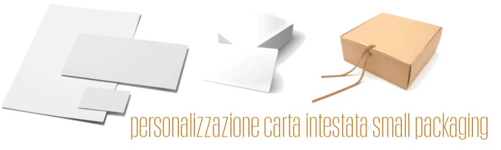 Personalizzazione small packaging