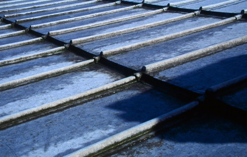 Close up of our roofing work