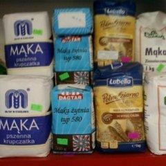 farina di segale, farina di fecola, confezioni di farina