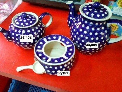 Servizio in ceramica