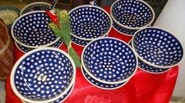 ceramiche, ceramica decorata, servizio piatti