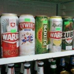 birra in lattina, bottiglie di birra, birra polacca