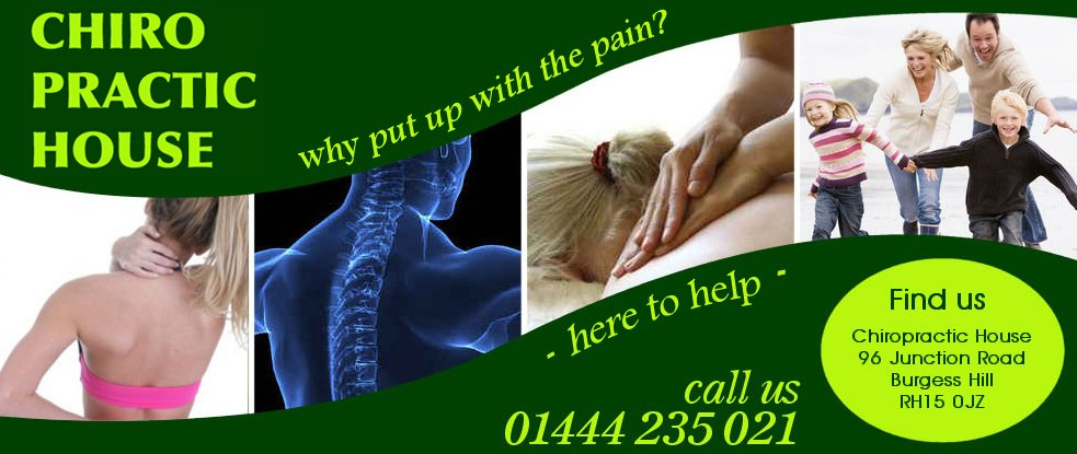 Chiropractic house banner