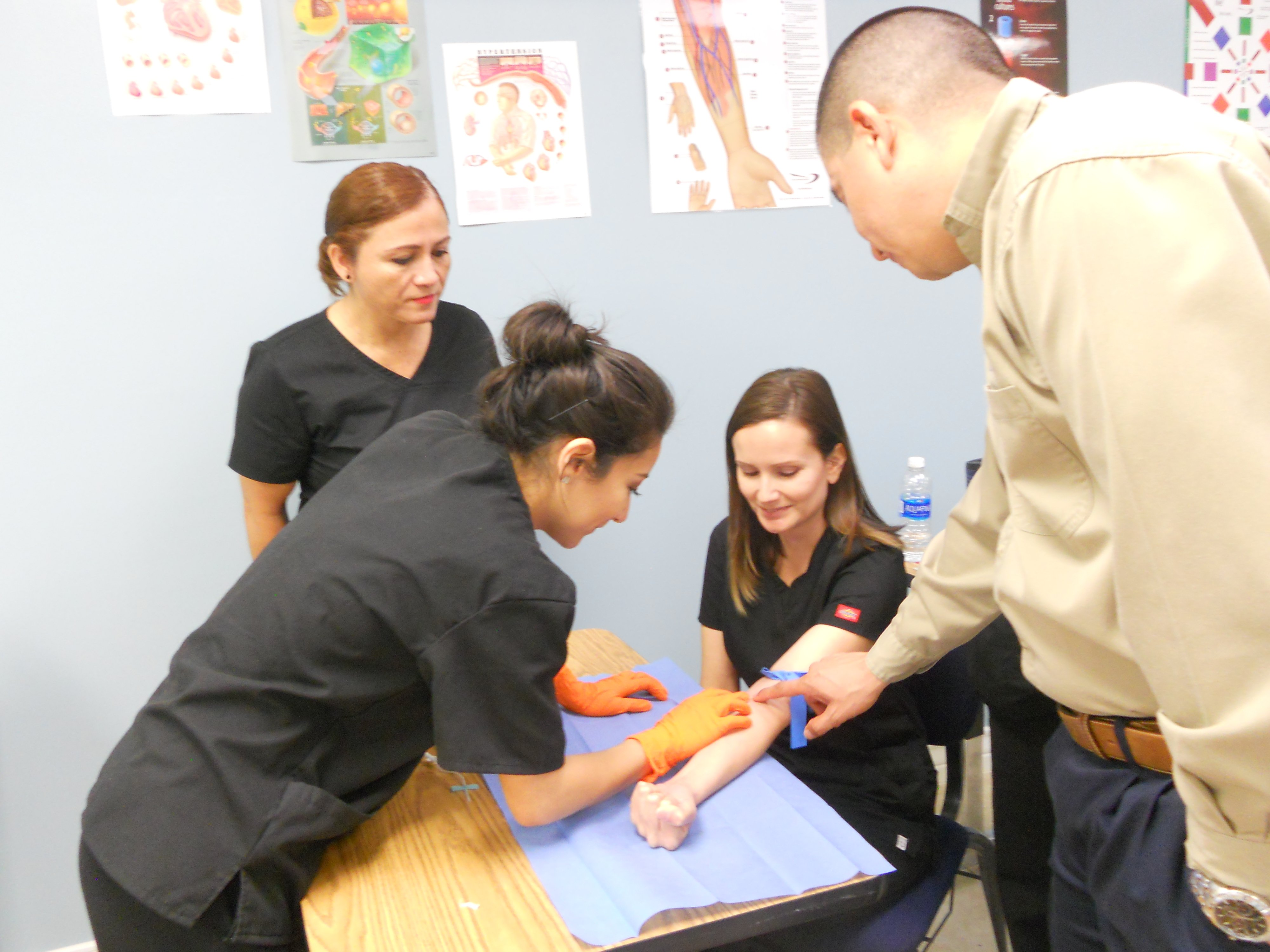Phlebotomy technician training laredo tx health care provider advantages of our phlebotomy technician training program xflitez Images