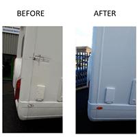 caravan accident repair