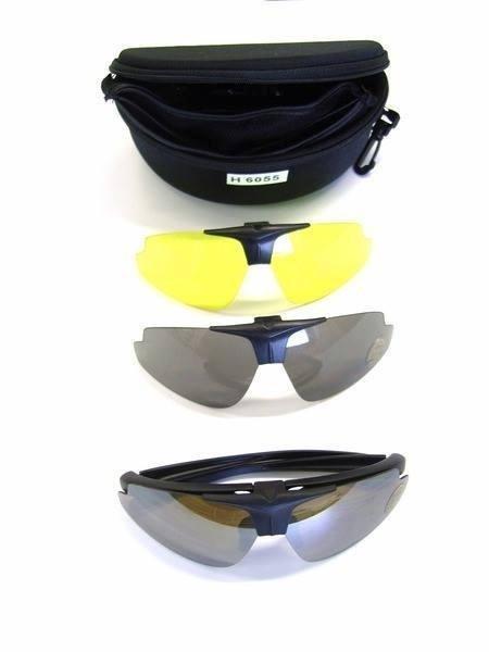 occhiali a tre lenti