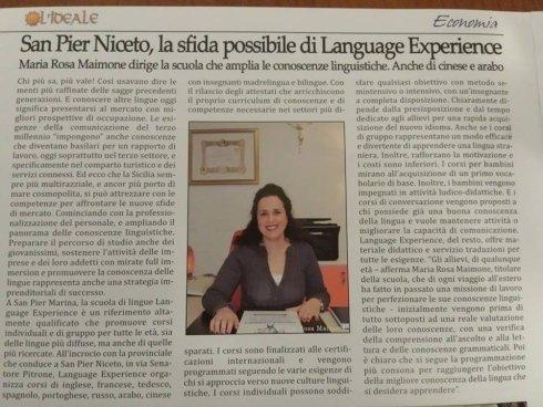 scuola di lingue straniere