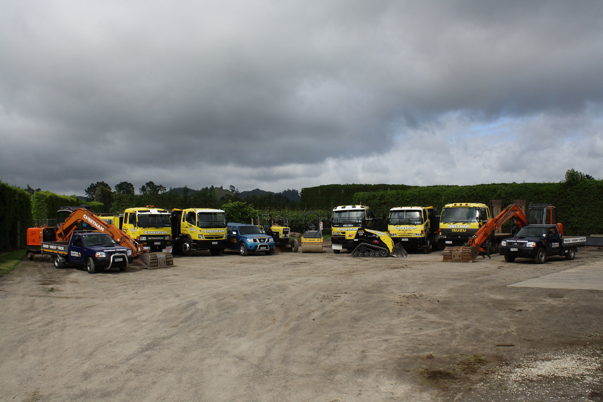 earthmoving services in the Bay of Plenty