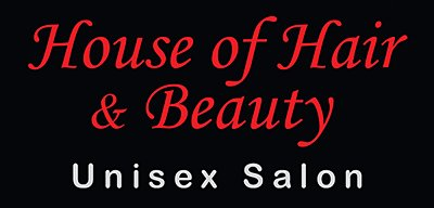 House of hair and beauty logo