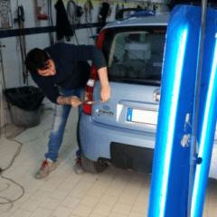 riparazione auto ammaccatura