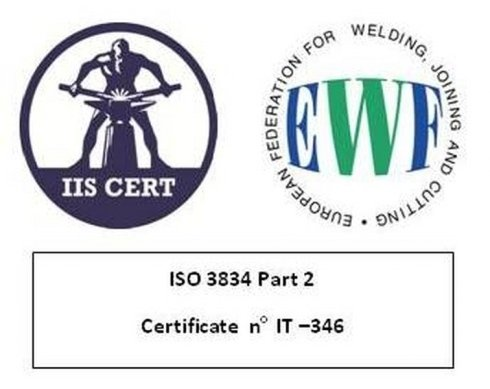 IIS CERT ISO 3834 seconda parte