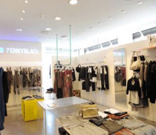 negozio di abbigliamento.
