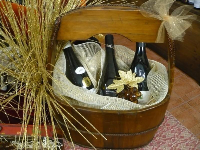 Paniere legno vini Borgogna