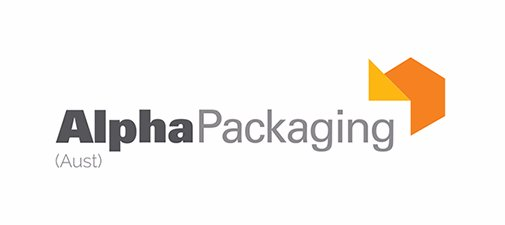 alpha packaging business logo