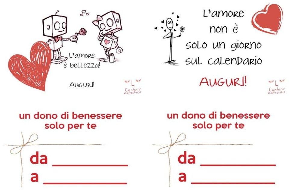 Cartoline regalo San Valentino