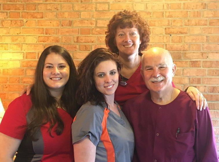 Family dentistry team in Waynesboro