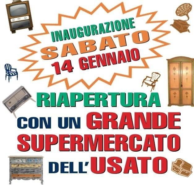 Elegant SABATO 14 GENNAIO INAUGURAZIONE NUOVO SUPERMERCATO DELLu0027usato