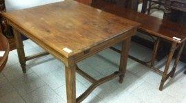 tavolo in rovere restaurato
