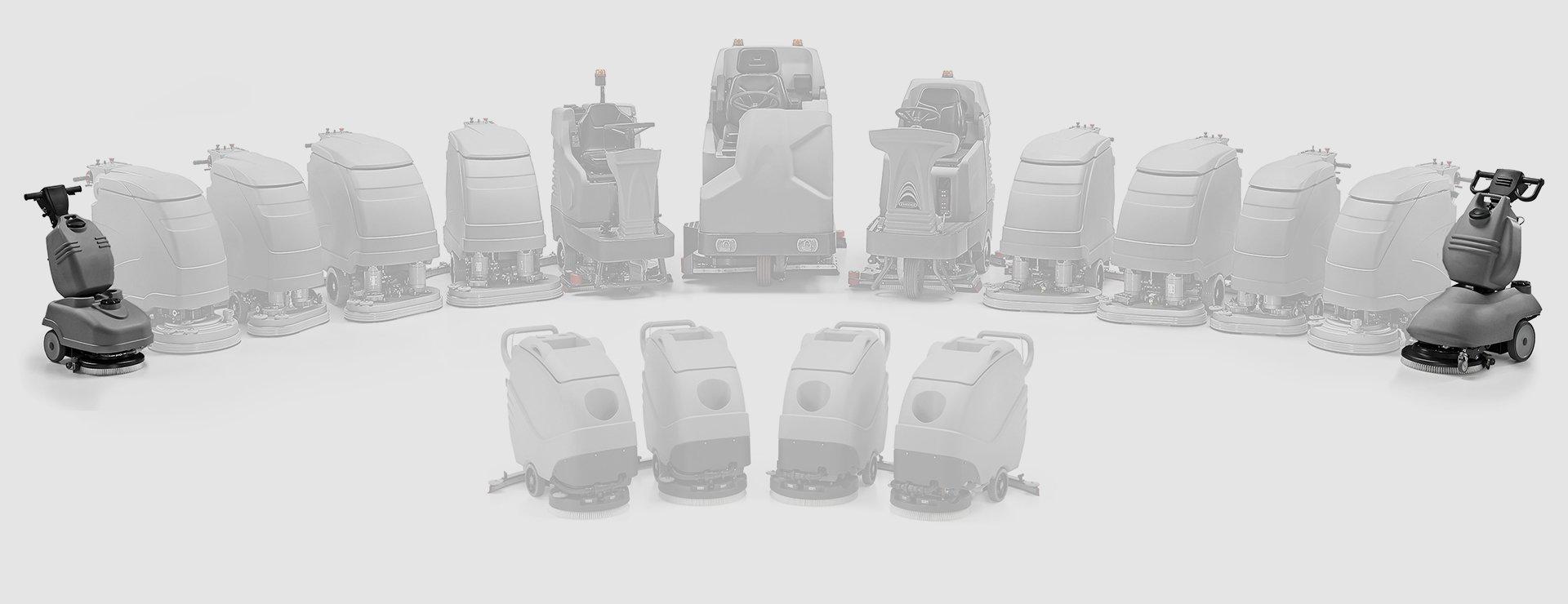 advanced scrubber dryers