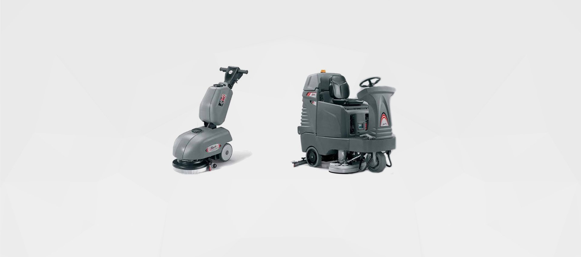 Industrial Sweeper and Scrubber