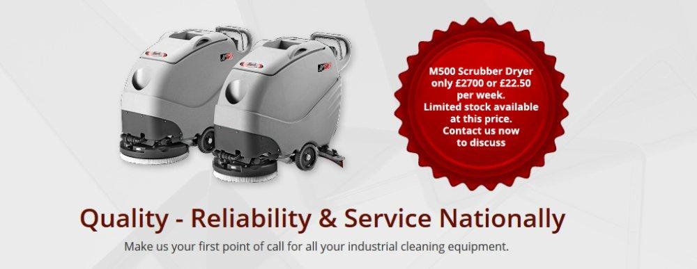 M500 Scrubber Dryer