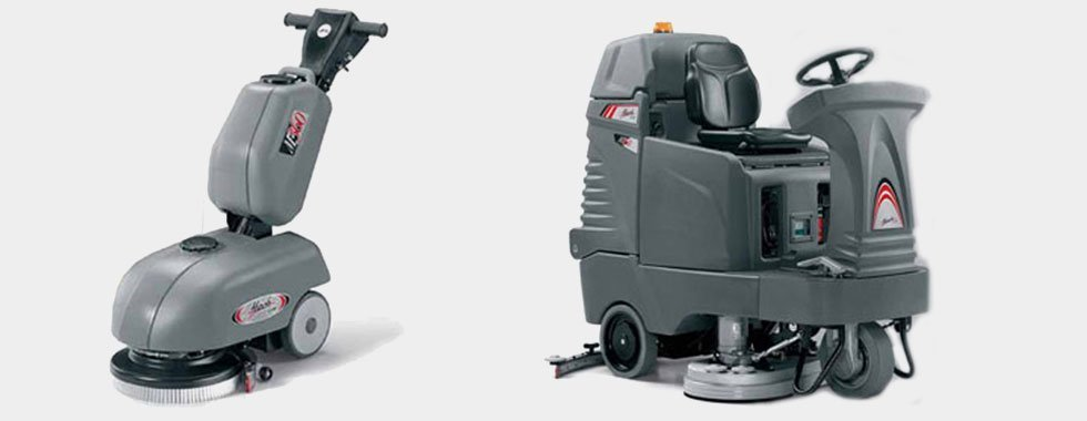 advanced scrubber dryers