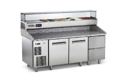 banco frigo per pizzeria
