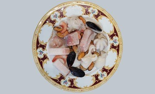 insalata di mare congelata