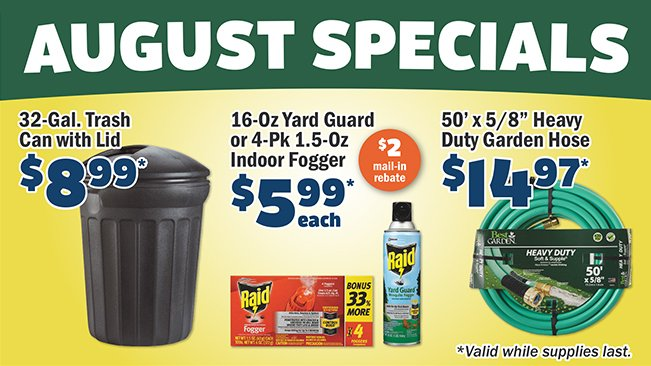 Shop Our Monthly Specials!