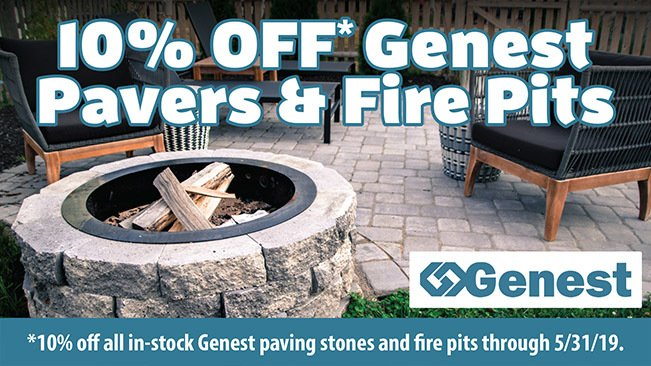 10% OFF In-Stock Genest Paving Stones