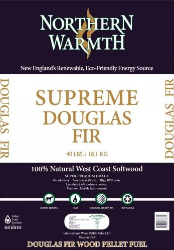 Northern Warmth Supreme Douglas Fir Wood Pellets
