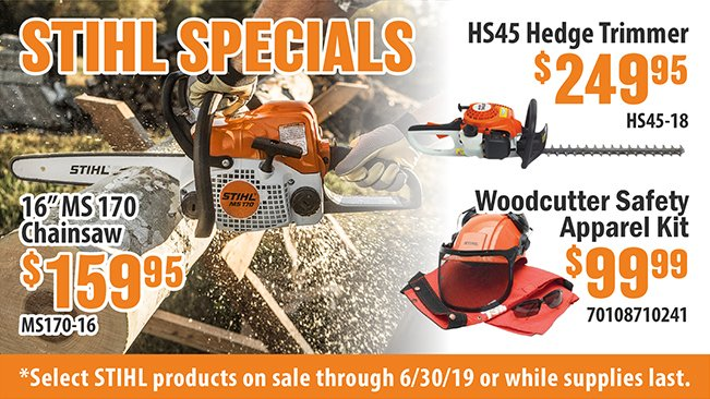Select STIHL Products on Sale!