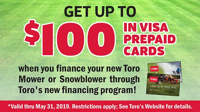 Finance with Toro and Earn Visa Gift Cards