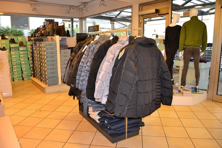 Abbigliamento Vulcano store