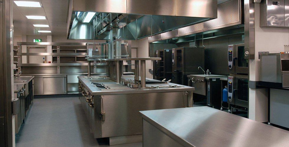 a restaurant kitchen