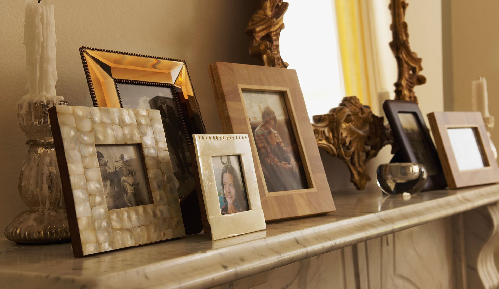 Commercial picture framing