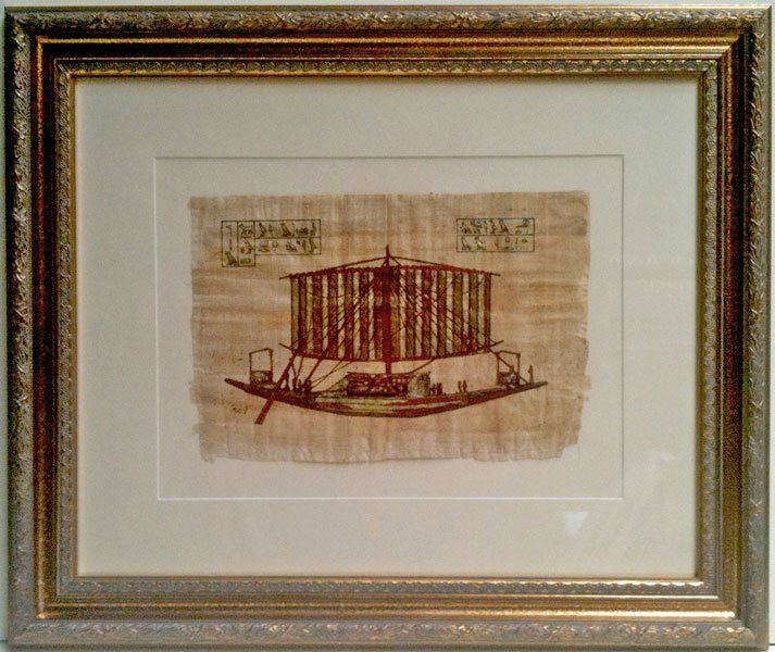 framed heritage art