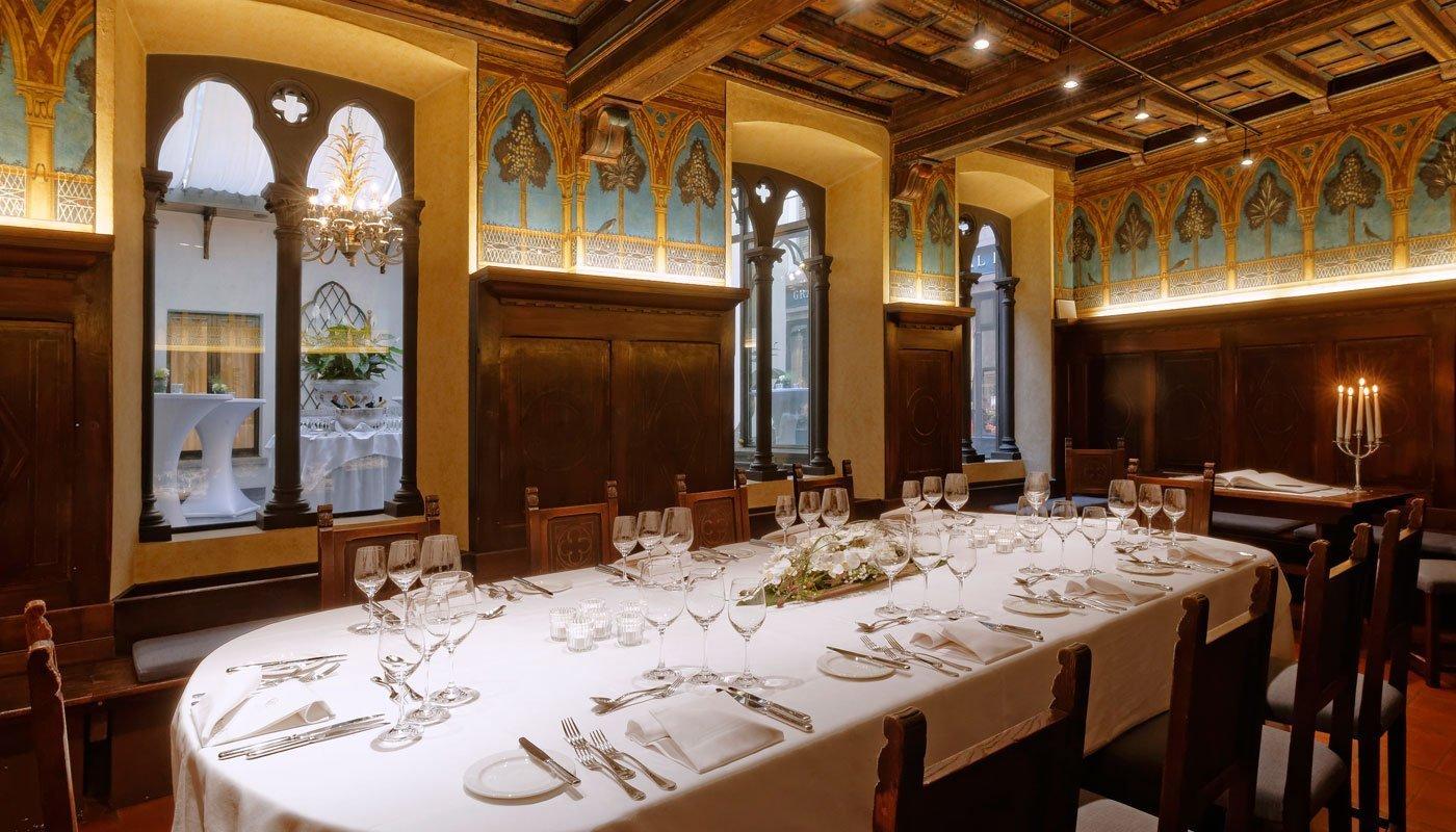 Il rinomato Cenacolo Fiorentino, da 10 a 40 ospiti