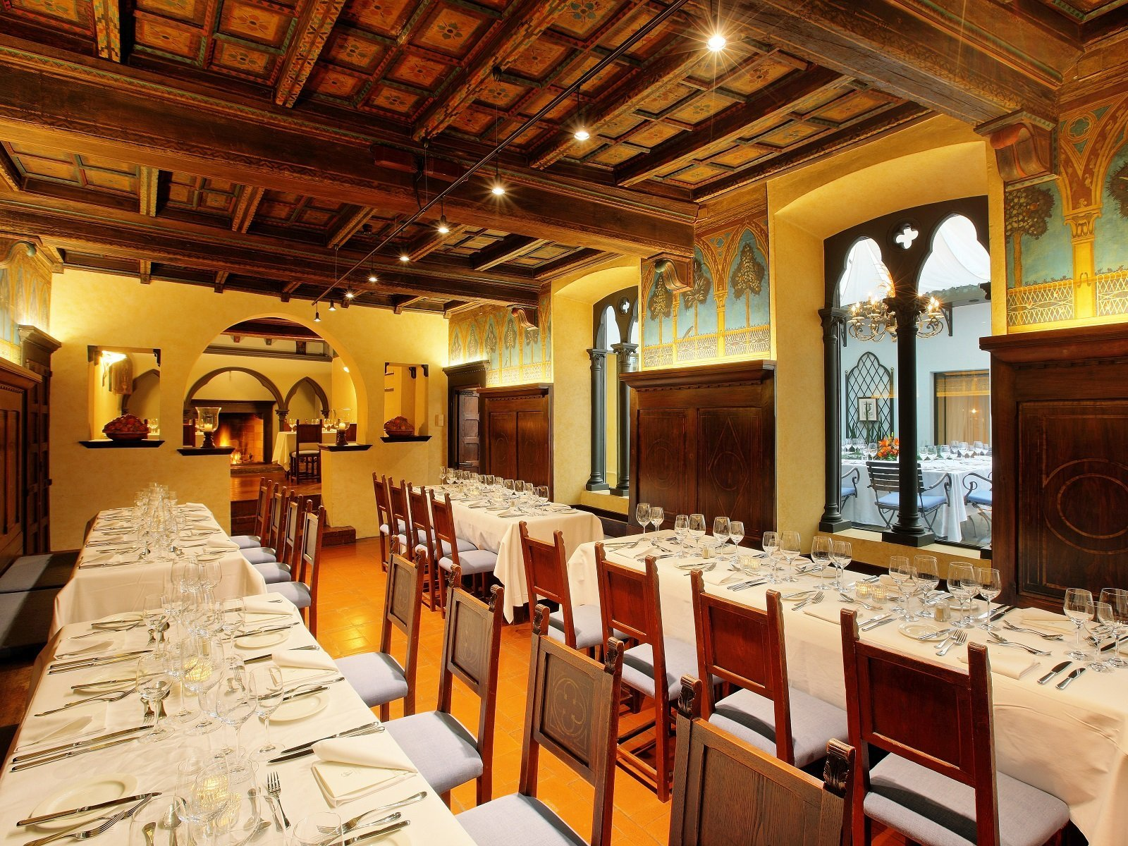 Il Cenacolo Fiorentino, preparato per 40 ospiti