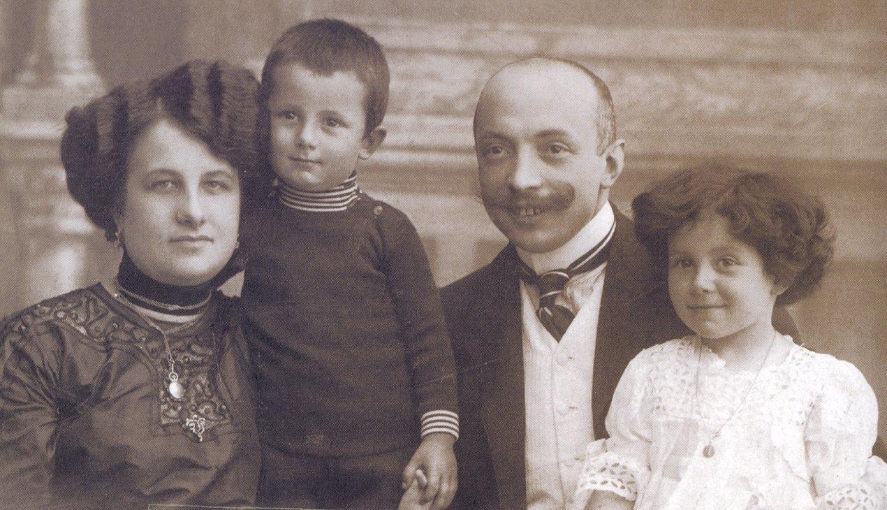 La famiglia Biaggi, gestori dell'ononimo Ristorante