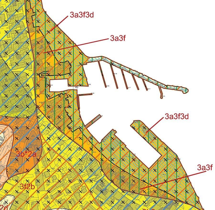 Mappa di un'area