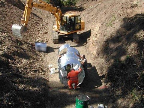 Lavori di difesa idraulica