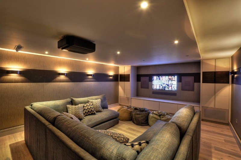 Media rooms from new wave av - Home cinema 7 2 ...