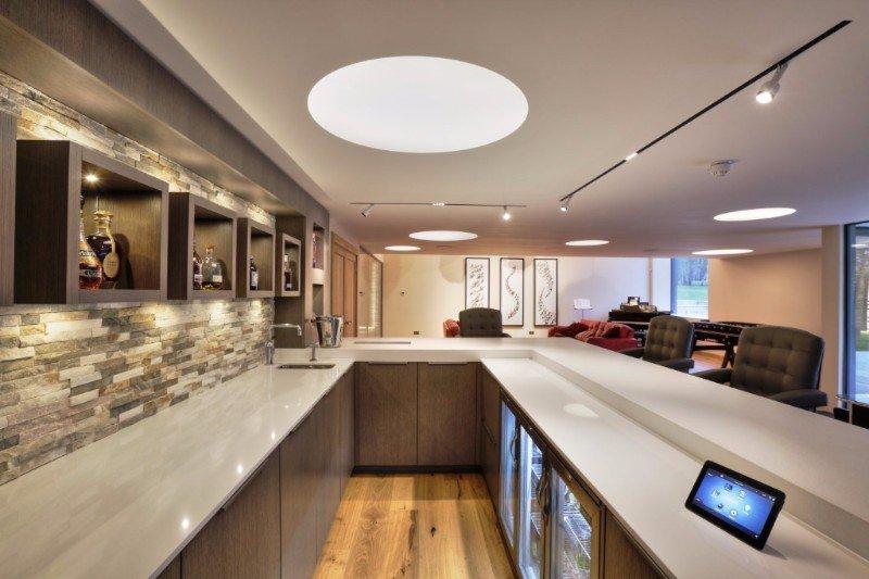 Control4 kitchen installation in kent