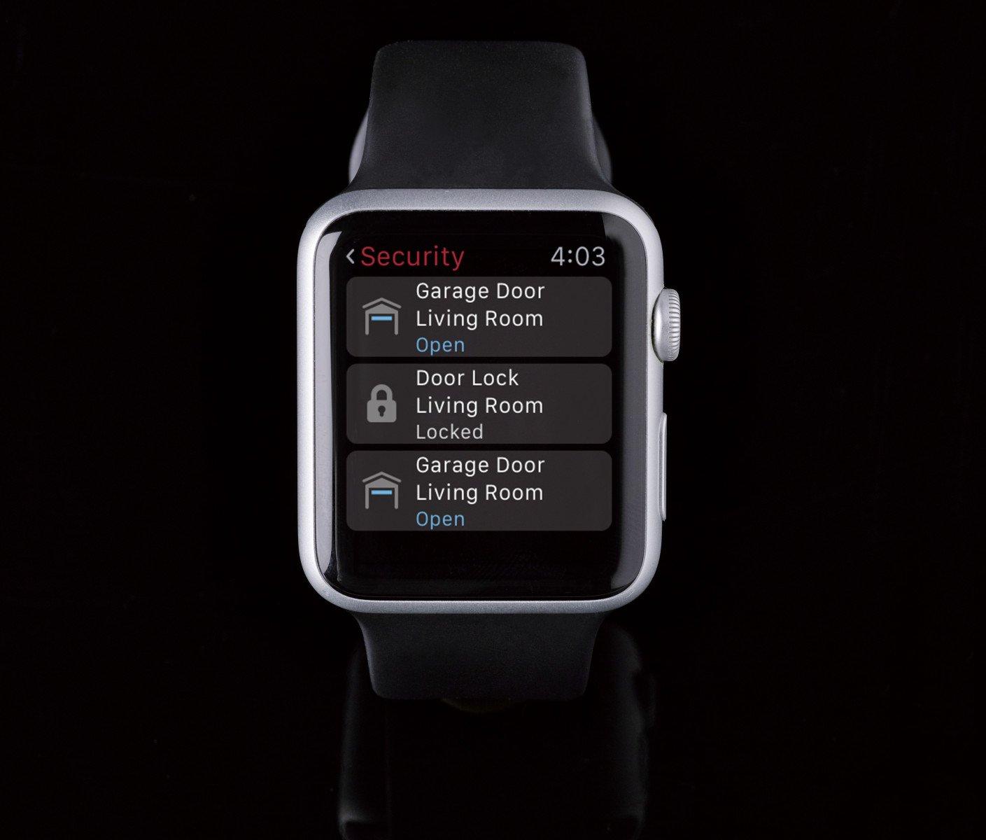 Control4 Apple Watch app